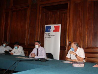 Signature de La charte production Réunie pour valoriser la production locale de la réunion